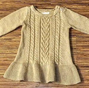 Crazy 8 Cable Knit Sweater Dress EUC